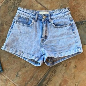 PacSun mom shorts size 23